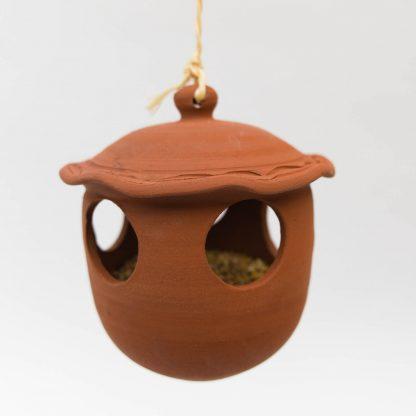vogel voederpot